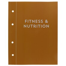 Fitness & Nutrition Planner Book By Recollections