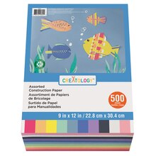 Assorted Construction Paper By Creatology