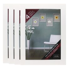 White Shadowbox 4 Pack by Studio Décor