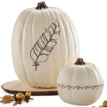 Doodle Cream Craft Pumpkin, medium