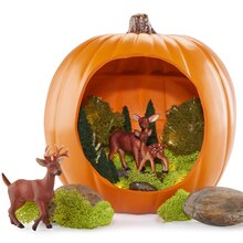 Enchanted Forest Diorama Pumpkin, medium