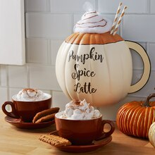 Spice Latte Half Pumpkin, medium