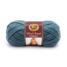 Lion Brand Wool-Ease Tonal Yarn, Slate Blue