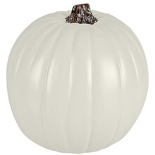 "9"" Cream Craft Pumpkin by Ashland"