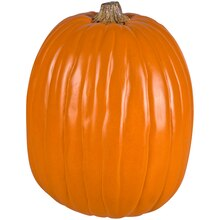 "13"" Orange Craft Pumpkin by Ashland"