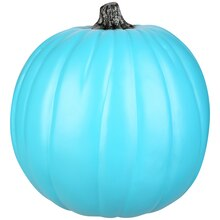 Teal Craft Pumpkin by Ashland