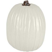 "13"" Cream Craft Pumpkin by Ashland"