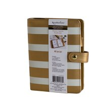 Creative Year Gold & Ivory Stripes Planner By Recollections