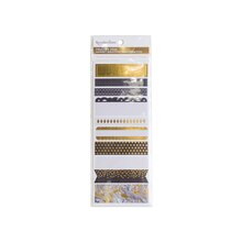 Creative Year Black & Gold Washi Sticker Book By Recollections