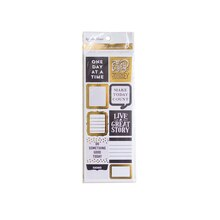 Creative Year Black & Gold Stickers By Recollections