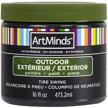DIY Home Décor Outdoor Paint By ArtMinds, 16oz. Tire Swing