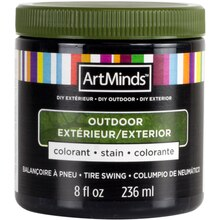DIY Home Décor Outdoor Stain By ArtMinds, 8oz. Tire Swing