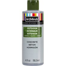 DIY Home Décor Outdoor Paint By ArtMinds, 4oz. Concrete