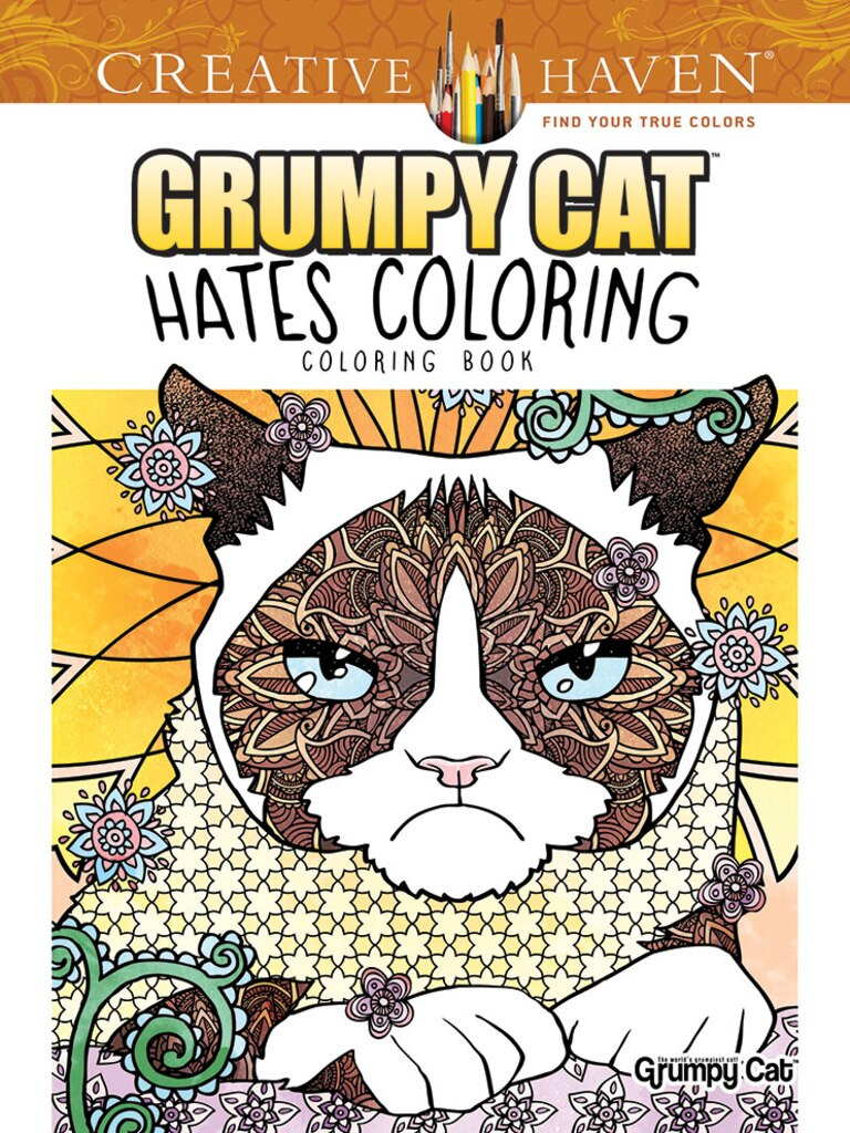 creative haven grumpy cat hates coloring coloring book - Michaels Coloring Books
