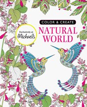 Color & Create Natural World Coloring Book
