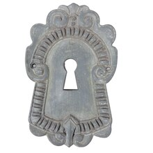 Gray Keyhole Resin Decor Accent By ArtMinds