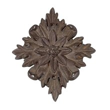 Brown Diamond Flower Resin Decor Accent By ArtMinds