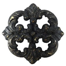 Black & Gold Medallion Resin Decor Accents By ArtMinds