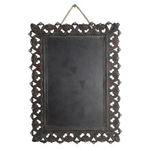 Black Rectangular Iron Plaque By ArtMinds