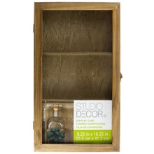 Rustic Display Case By Studio Decor