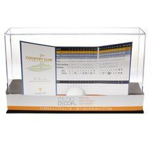 Golf Ball & Scorecard Display Case By Studio Decor