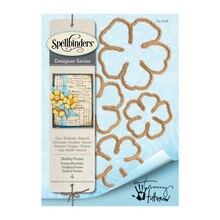 Spellbinders Shapeabilities Tammy Tutterow Designs Shabby Posies Etched Dies