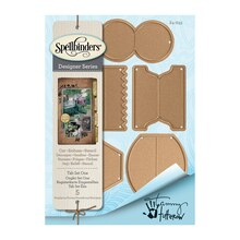 Spellbinders Shapeabilities Tammy Tutterow Designs Tab Set One Etched Dies