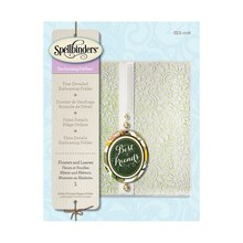 Spellbinders Em-Bossing Fold'ers Flowers & Leaves