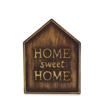 Brass Home Magnetic Metal Plaque By ArtMinds