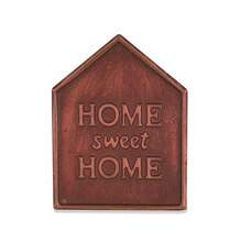 Copper Home Magnetic Metal Plaque By ArtMinds