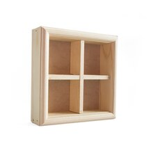 """8"""" x 8"""" Wood Shadow Box by ArtMinds"""