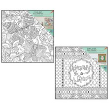 Time-Out Color-In Butterfly Coloring Prints with Frames
