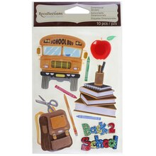 Signature Back-To-School Dimensional Stickers by Recollections