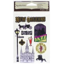 Signature New Orleans Dimensional Stickers by Recollections