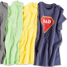 Superhero Dad T-Shirt, medium