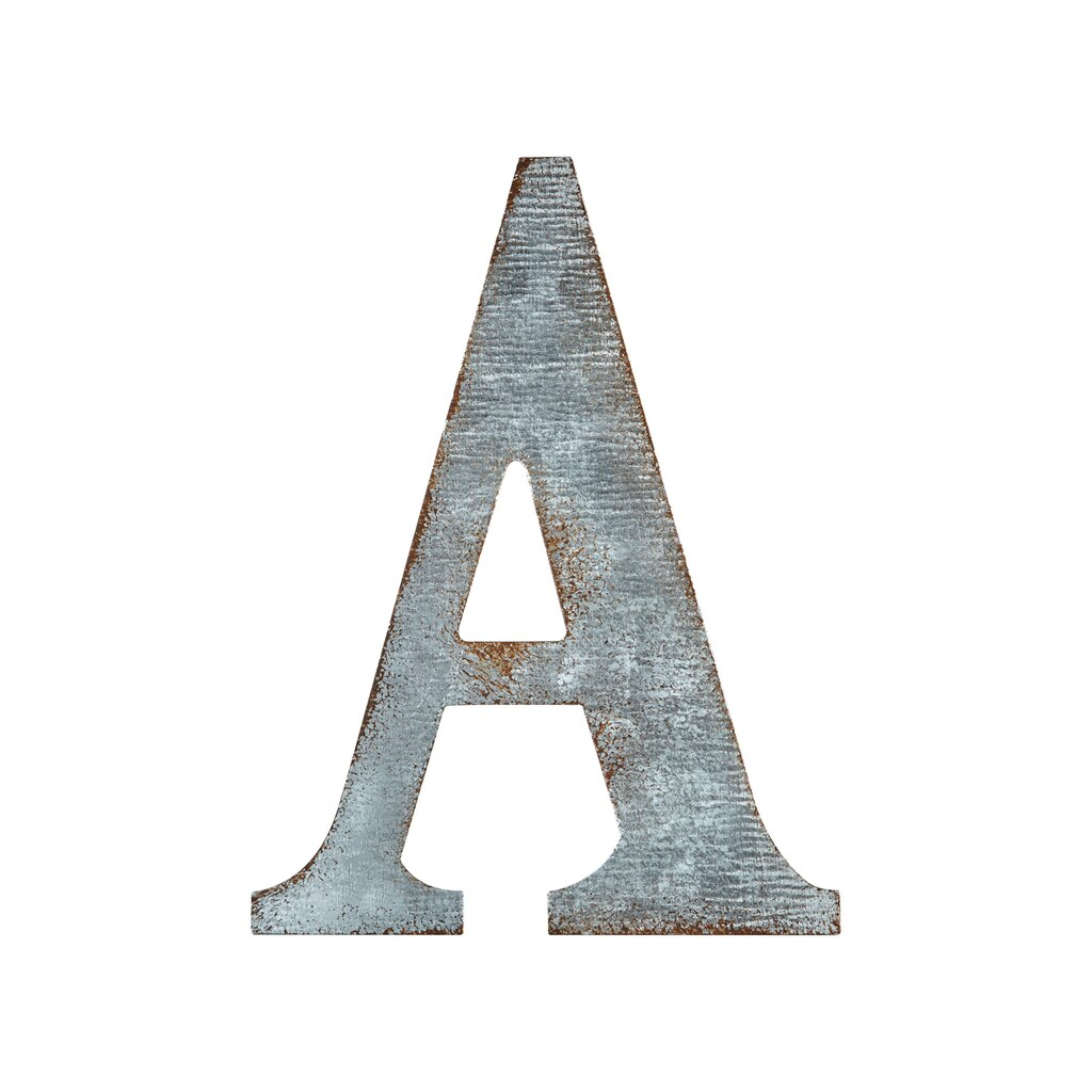 Galvanized Letters For Sale Find The Galvanized Letterartminds® At Michaels