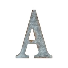 Galvanized Letter By ArtMinds, A