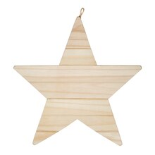 Star Wood Plaque By Celebrate It