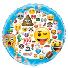 Giant Foil Emoji Balloon, 34""