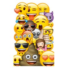 Large Emoji Cut Out Decoration