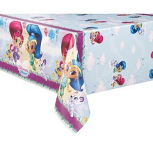 "Plastic Shimmer And Shine Tablecloth 84"" x 54"""