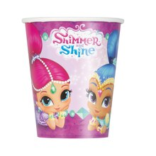 9oz Shimmer And Shine Paper Cups, 8ct