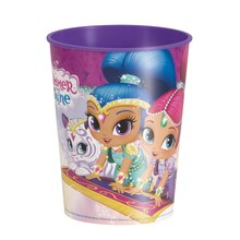 16oz Shimmer And Shine Plastic Cup