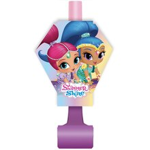Shimmer And Shine Party Blowers, 8ct