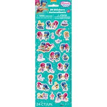 Puffy Shimmer And Shine Stickers, 24ct