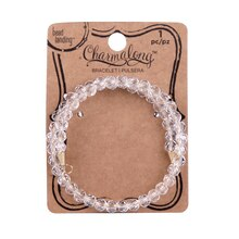 Charmalong Clear Crystal Bracelet By Bead Landing