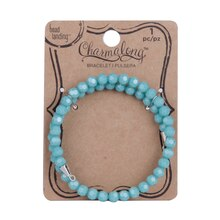 Charmalong Turquoise Crystal Bracelet By Bead Landing