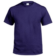 Gildan Short Sleeve Adult T-Shirt, X Large, Navy Heather