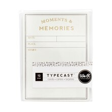 We R Memory Keepers Typecast Cards, Grid