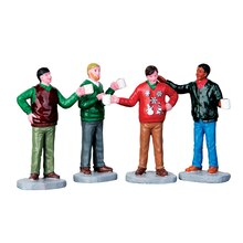 Lemax Ugly Christmas Sweater, Set of 4